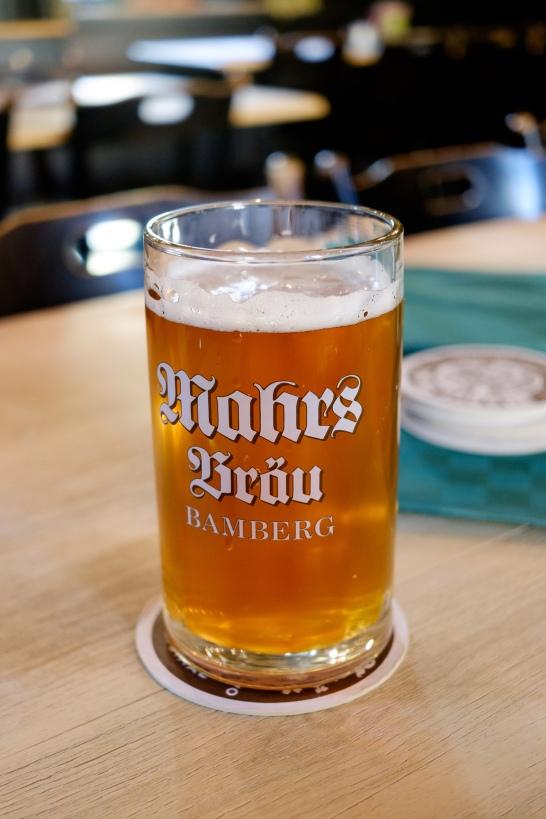 Mahr's Kellerbier Ungespundet